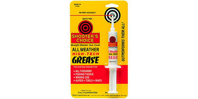 Shooters Choice Cleaning Supplies High Tech Syn Grease Firearm 10CC G10CC