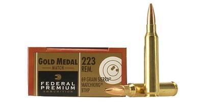 federal ammo 223 rem 5 56 nato sierra matchking bthp 69 grain