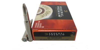 Federal Ammo Vital-Shok 35 Whelen Trophy Bonded 225 Grain ...