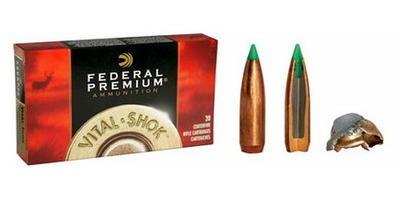 federal ammo vital shok 300 wsm nosler ballistic tip 150 grain