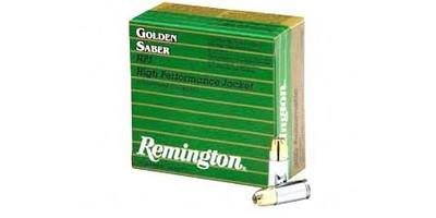 Saber 357 magnum penetration golden Remington