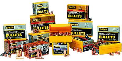 Speer Reloading Bullets 357 Sig  355 125 Grain TMJ Encased Core Full Jacket  FN 100 Per Box [4362]