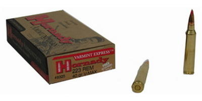 Hornady Ammo 223 Remington V-Max 40 Grain 20 Rounds [8325]