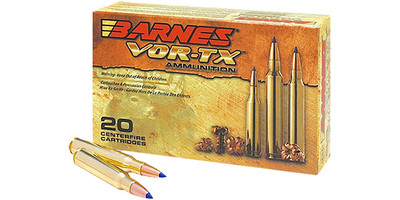 Barnes Ammo Vor Tx 270 Wsm 140 Grain Tsx Boat Tail 21559